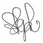 Steph's Scanned Signature