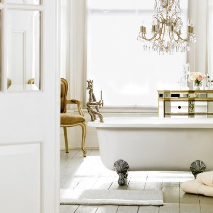 Dreamy Little Bathrooms Part 2 Chandeliers Sconces And