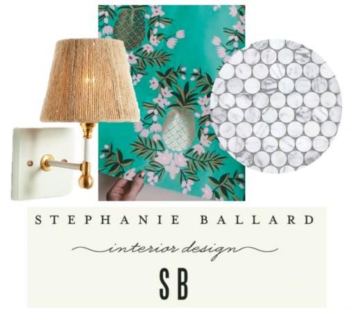 Powder Bath | Casa Covet Living | Stephanie Ballard Interiors