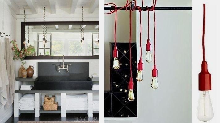 Popular Diy Industrial Bathroom Light Lighting Fixtures Galvanized System