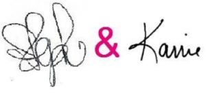 karrie and steph signature