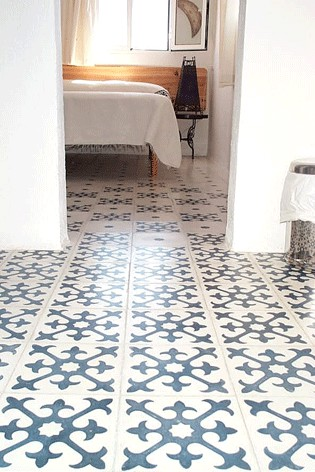 Mosaic Del Sur Floor Tiles Via Cement