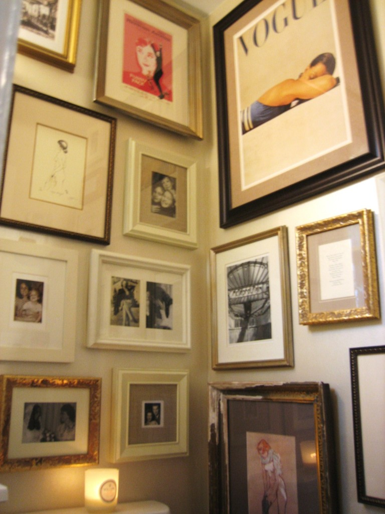 Gorgeous covet living for Bathroom decor frames