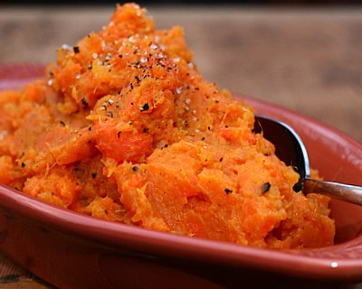 how to make mashed carrots