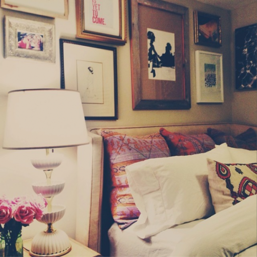 Steph's Bedroom | DIY Kantha Pillows | Covet Living