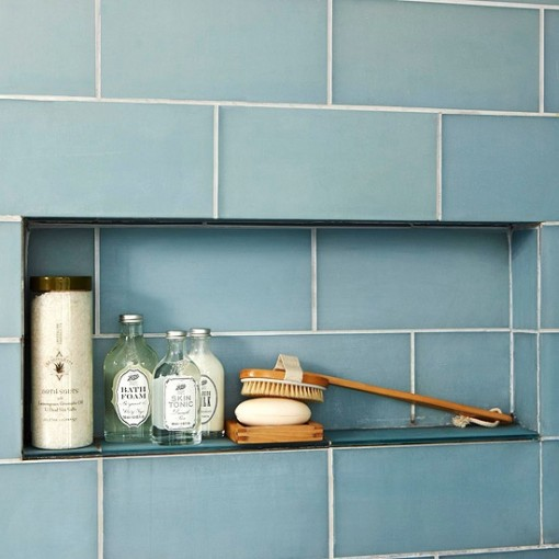 Blue Subway Tile