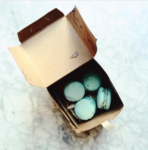 Perfect shade of aqua, via Sara Mueller Instagram | Covet Living