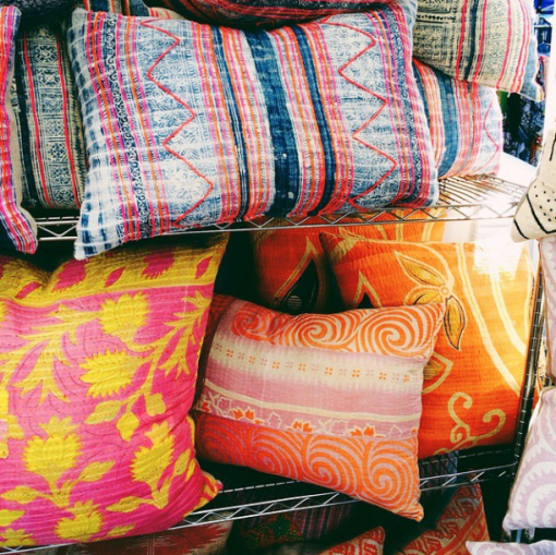 Chairish Co Kantha Pillows | Covet Living