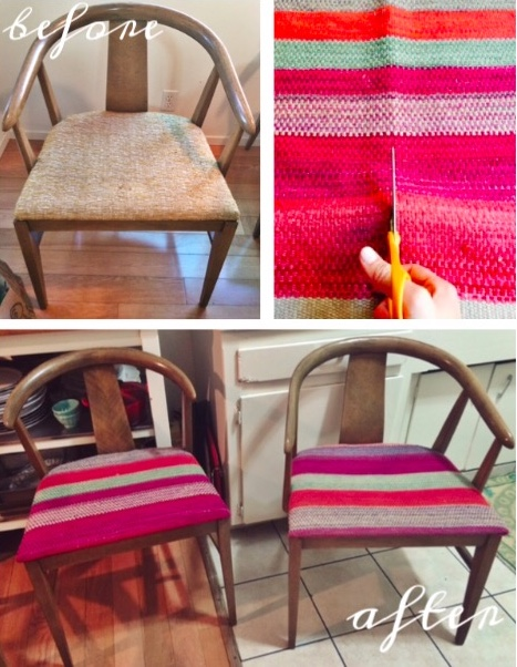 DIY Dining Chair Before and After | Covet Living