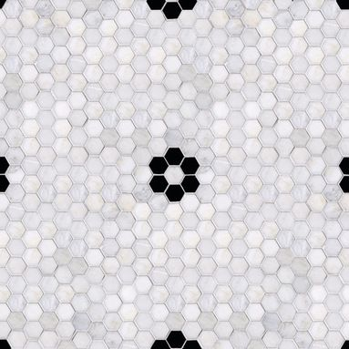 Hex with Flower Mosaic :: Currently Loving :: Covet Living
