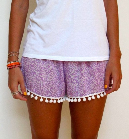 Pom Pom Shorts :: Currently Loving :: Covet Living
