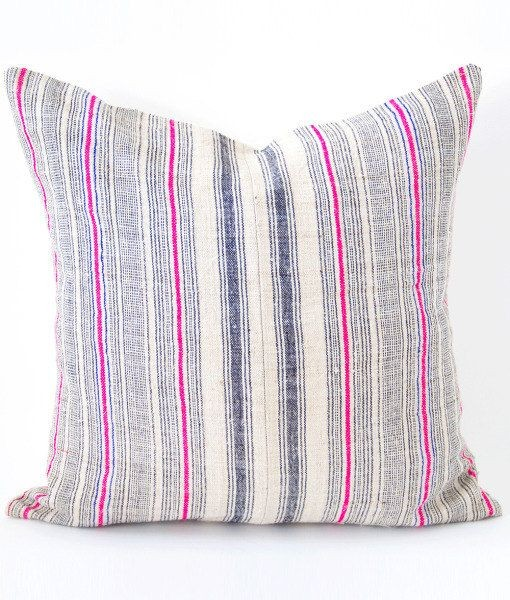 Vintage Hmong Pillow :: Currently Loving :: Covet Living