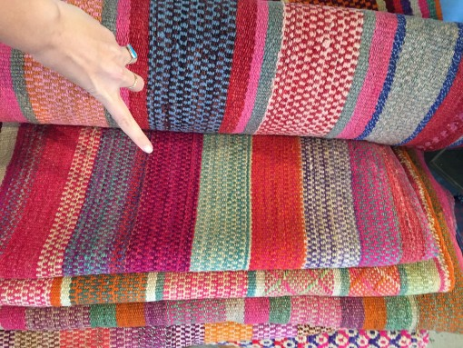 That one!  | Covet Living #bolivianblanket