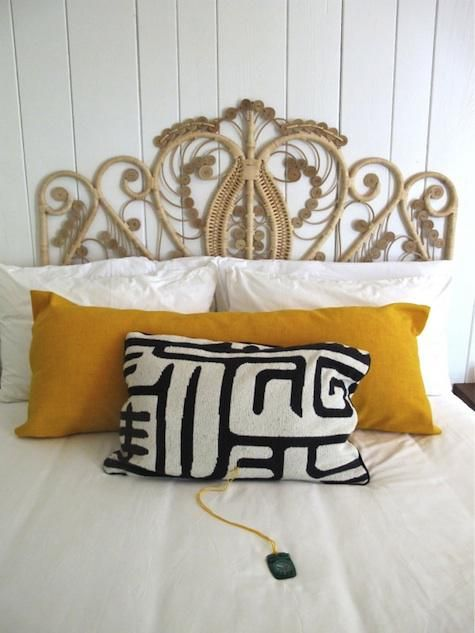 Au Natural Wicker Headboard Covet Living