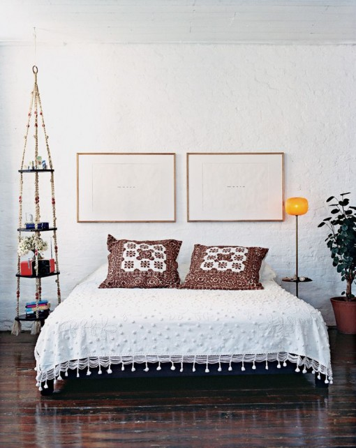 Bohemian Bedroom, via Domino | Covet Living