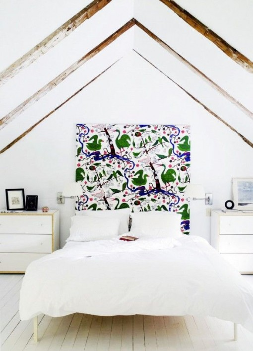Crazy Headboard on White | Covet Living