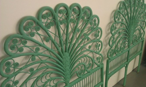 Green Wicker Headboards | Covet Living