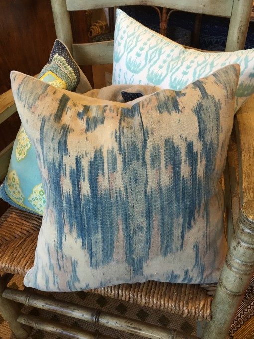 Vintage Ikat Pillows from Rooms & Gardens | Covet Living