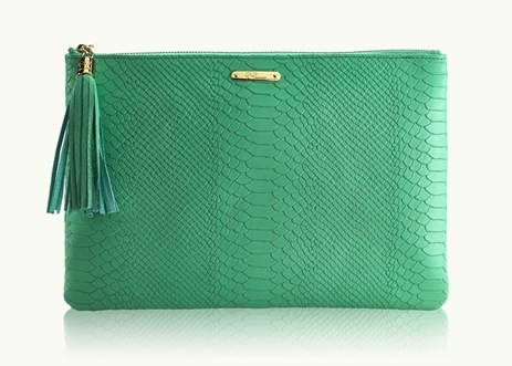 Island Green Uber Clutch | Covet Living