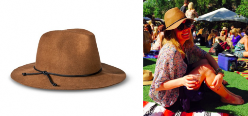 Mossimo Fedora Hat in Brown + Karrie | Target | Covet Living