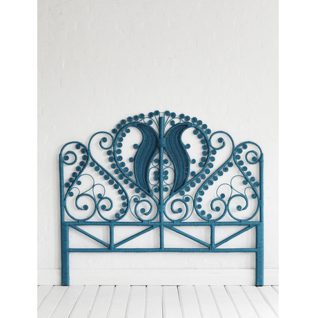 Peacock Teal Headboard | Covet Living
