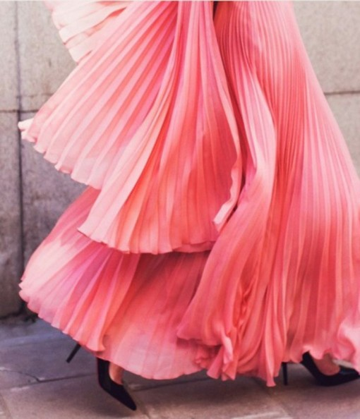 Pink Skirt | Covet Living