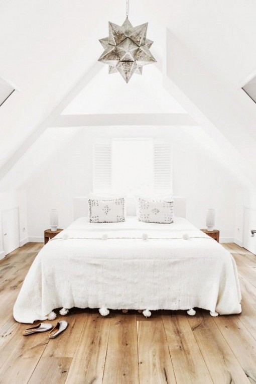 White Bedroom via Domaine | Covet Living