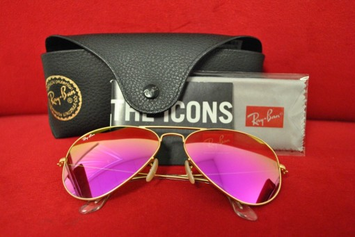 Pink Ray Ban Aviators | Covet Living