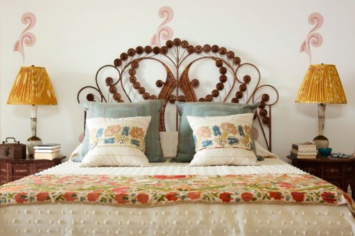 Wicker Scroll Headboard | Covet Living