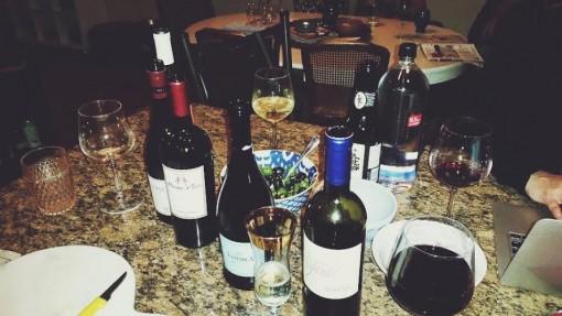 vino night
