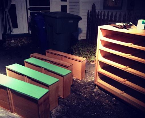 Green Dresser 1