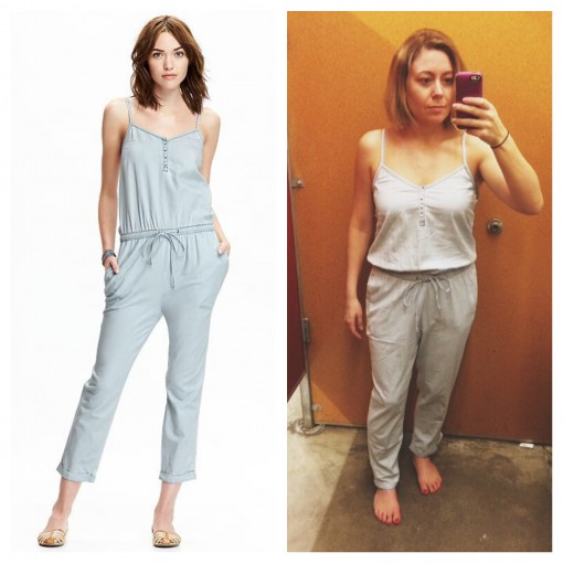 Old Navy Chambray Cami Jumpsuit | Covet Living