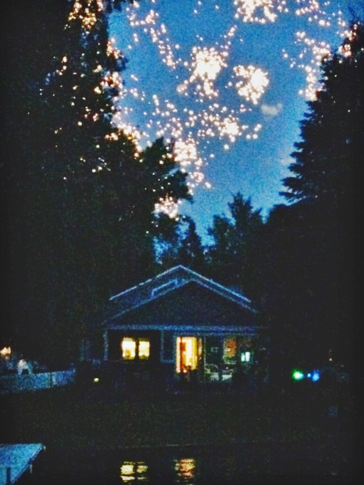 Fireworks | Lake Life Lessons | Covet Living