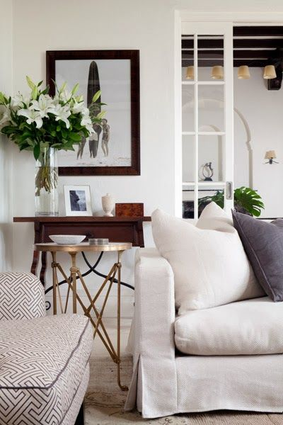 Refined Boho Living Room | Covet Living