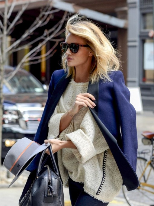 Saturday Morning | Rosie Huntington Haircut | Covet Living