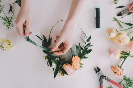 DIY Flower Crowns | Covet Living