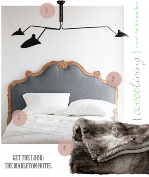 Get the Look - The Marleton Hotel | Covet Living