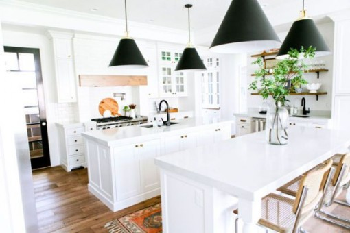House of Jade Kitchen via Domino | Covet Living
