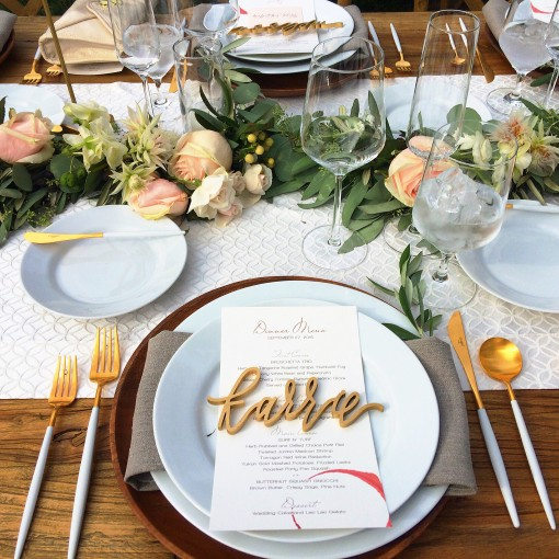 The most perfect wedding tables cape | Covet Living