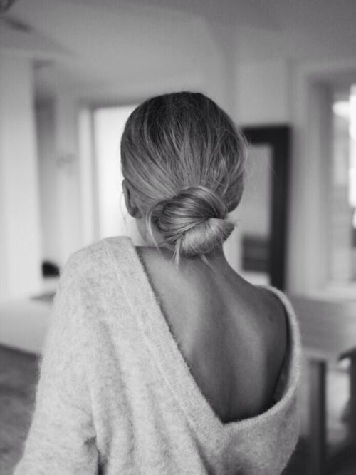 Low Back, Low Bun | Covet Living