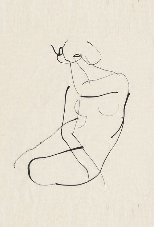 Nude Sketch, Source Unknown | Covet Living