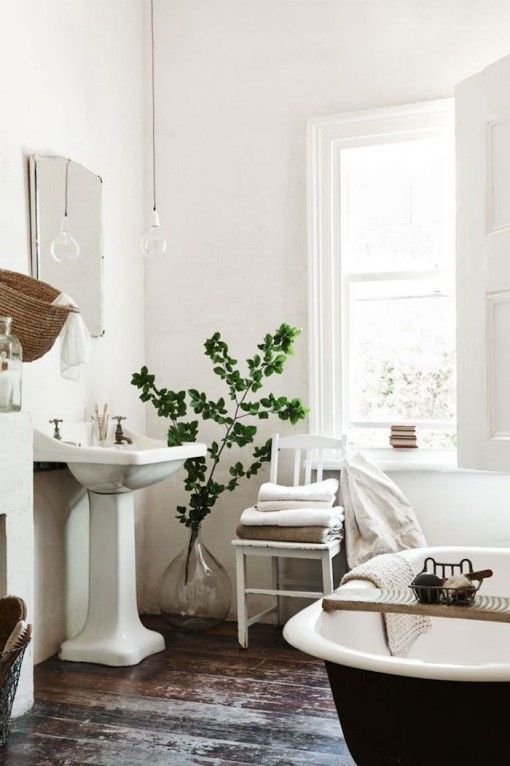 White Bathroom | Covet Living