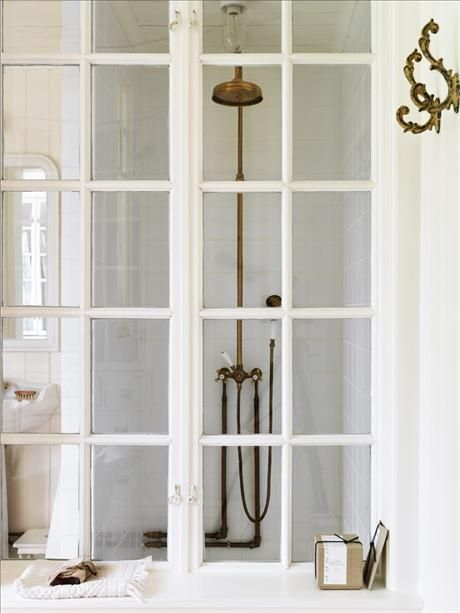 White Shower Doors | Covet Living