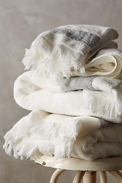 Linen Edged Towels | Covet Living