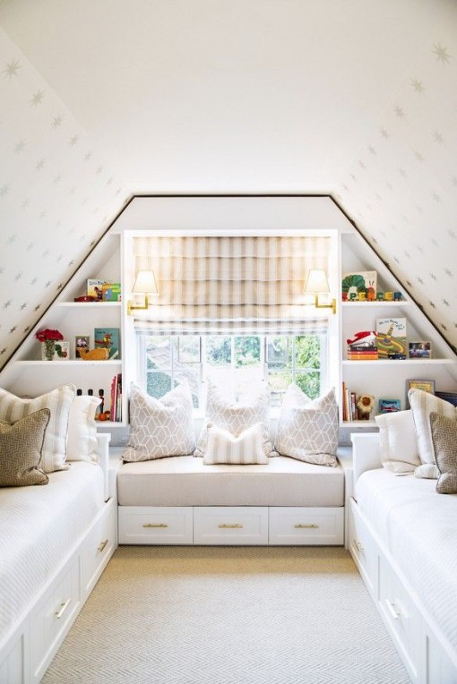 Attic Bedroom | Casa Karrie & Tim | Covet Living
