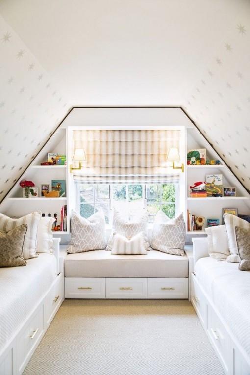 Attic Bedroom | Casa Karrie & Tim | Covet Living