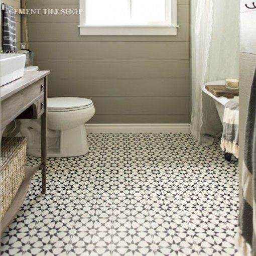 Cement Tile Shop Floor | Covet Living