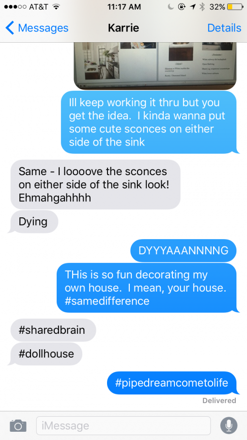 Karrie and Steph Convo | Karrie and Tim's New House, BEFORE | Covet Living