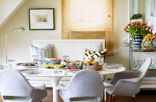 Jenna Hager Bush's Dining | Casa Karrie & Tim | Covet Living