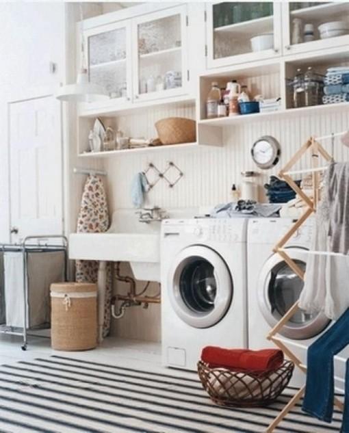 Laundry Room | Casa Karrie & Tim | Covet Living